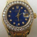 Rolex Datejust mit Brillant Lunette