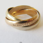 Cartier Trinity Ring 750 Gelbgold Rotgold Weißgold