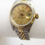 Rolex Lady Datejust Stahl Gold Damenuhr Zertifikat Originaletui