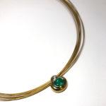Wempe Collier Smaragd Brillant Gold 750