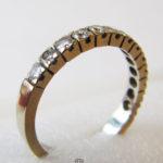 Memory Ring 750 Gelbgold 13 Brillanten Verlobung Hochzeit