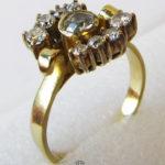 Ring 585 Gelbgold Diamanten Brillanten Familienstück