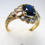 Diamantring Gelbgold Saphir Vintage01.jpg