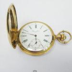 Antike Taschenuhr Ulysse Nardin 18kt 750 Gold Savonette