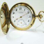 Goldene 585 Taschenuhr Deutsche Uhrenfabrikation Glashütte i. Sachsen A. Lange & Söhne