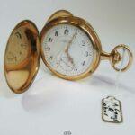 Taschenuhr Roségold 585 Deutsche Uhrenfabrikation Glashütte Sachsen A. Lange & Söhne