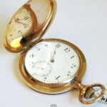 Zenith Taschenuhr 14K Rosegold Grand Prix Paris 1900 Kaliber 17 Jewels - ø 54 mm